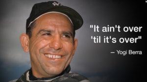 CNN honors Yogi Berra, Yankees' Hall of Fame catcher, when he dies.