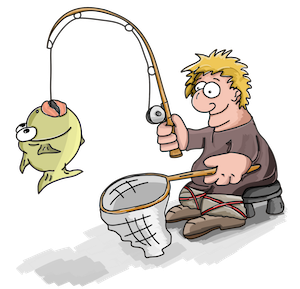 Sales is like fishing: follow the process to catch the big one