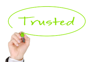 Trusted Salespeople Win Orders